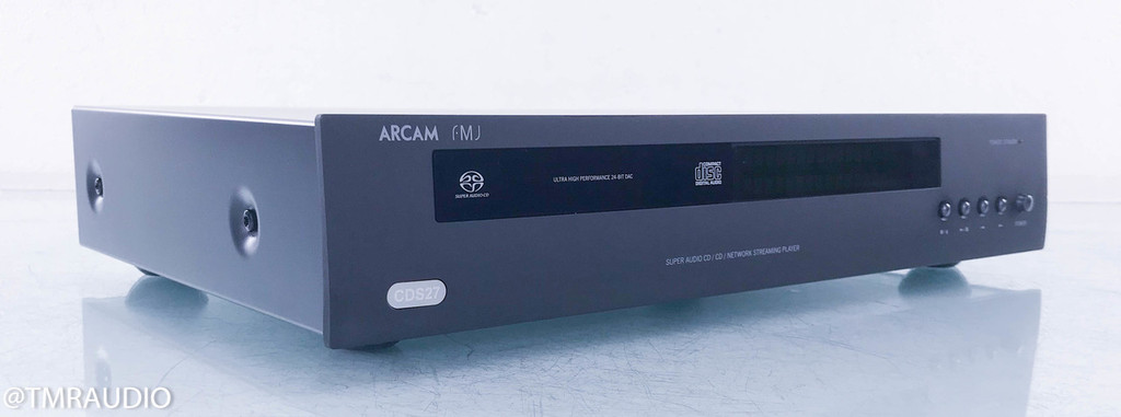 Arcam FMJ CDS27 CD / SACD Network Streaming Player; (No Remote)