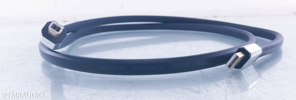 Shunyata Research Venom USB Cable; 1.5m Digital Interconnect