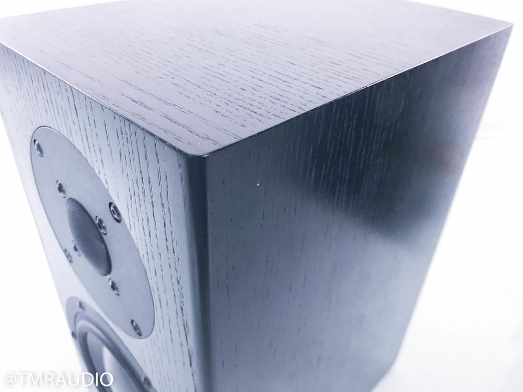 Totem Model 1 Signature Bookshelf Speakers; Black Ash Pair