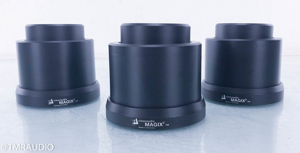 Clearaudio Magix 2 Magnetic Levitation Isolation Feet; Set of 3