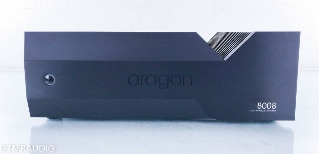 Aragon 8008 Dual Mono Power Amplifier; Black (New Old Stock)