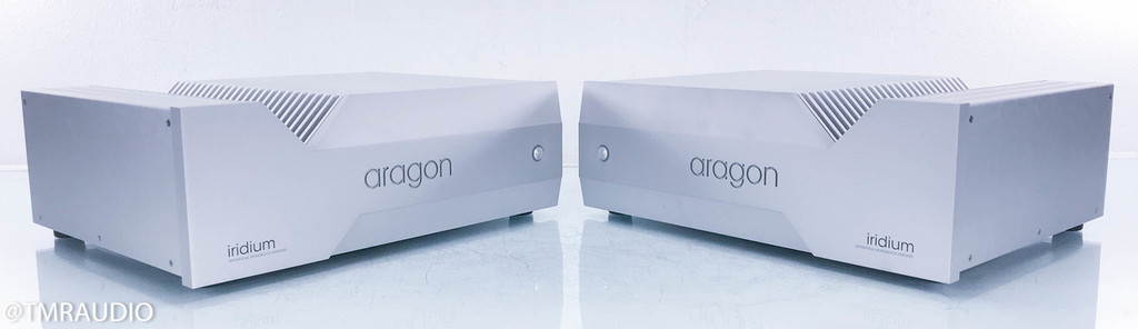 Aragon Iridium Mono Power Amplifier; Silver Pair