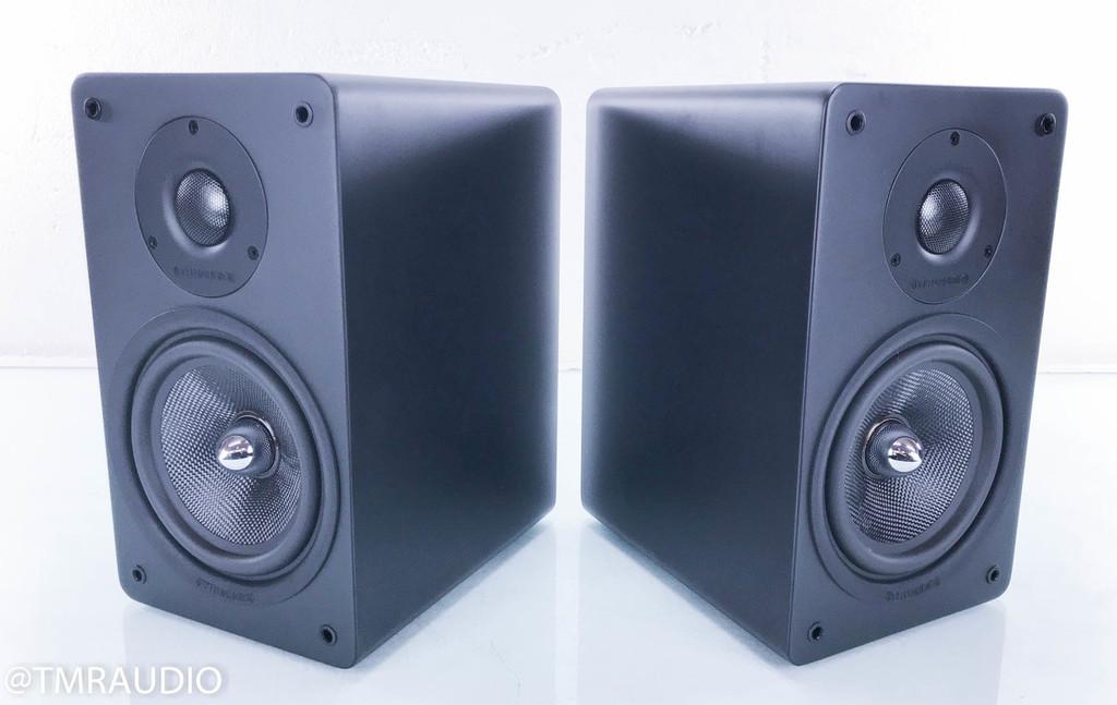 TruAudio TC3-6M Bookshelf Speakers; Matte Black Pair; TC36M