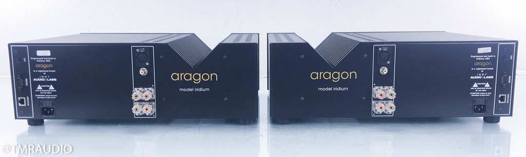 Aragon Iridium Mono Power Amplifier; Black Pair