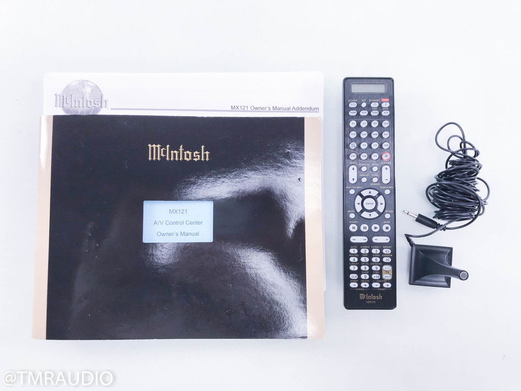 McIntosh MX121 7.1 Channel Home Theater Processor; Preamplifier; MX-121
