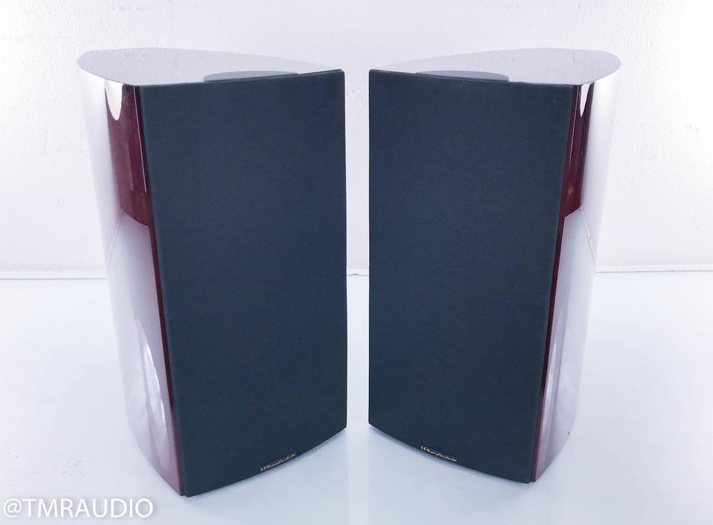 Wharfedale Opus2 M2 Bookshelf Speakers; Piano Rosewood Pair; Opus 2