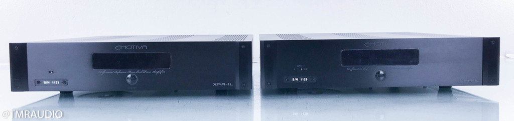 Emotiva XPA-1L Gen 2 Mono Power Amplifiers; Pair; XPA1L