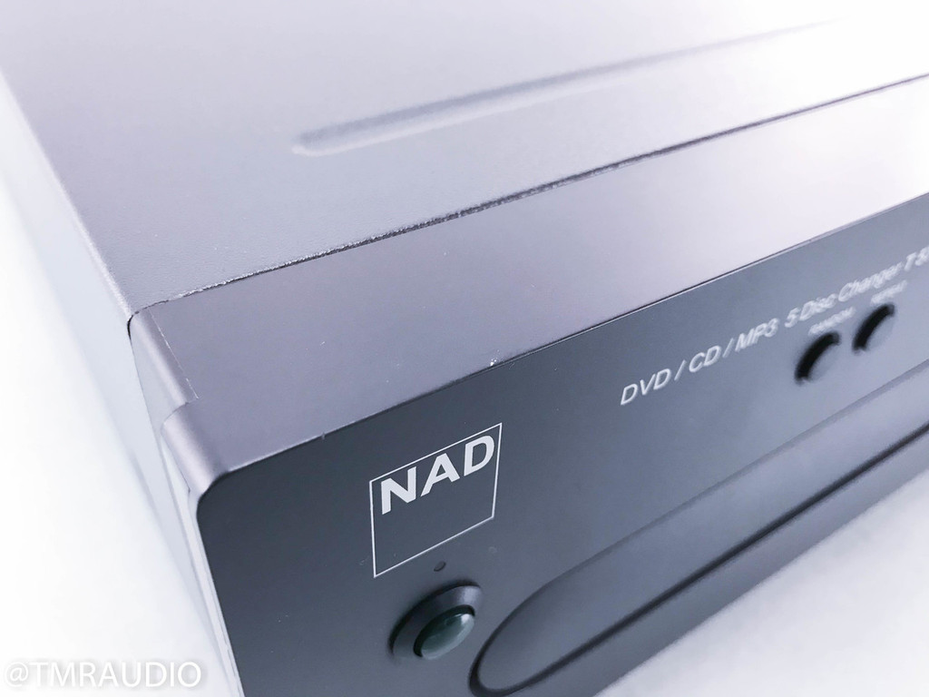 NAD T-571 5 Disk DVD / CD Changer; T571; Remote