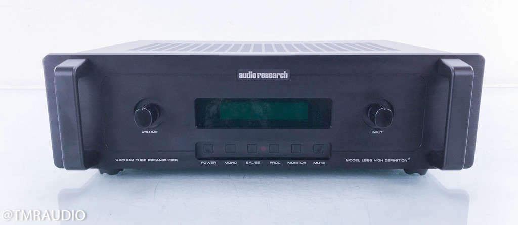 Audio Research LS26 Stereo Tube Preamplifier; LS-26; Remote (SOLD2)