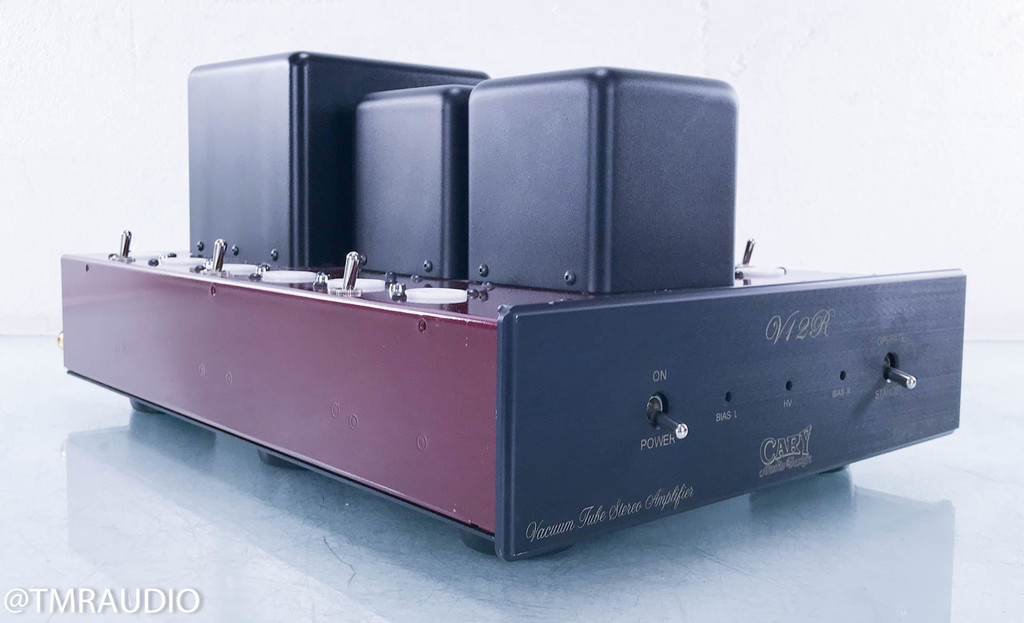 Cary CAD-280-SA V12R Stereo Tube Power Amplifier; AS-IS (No Tubes; Defective)