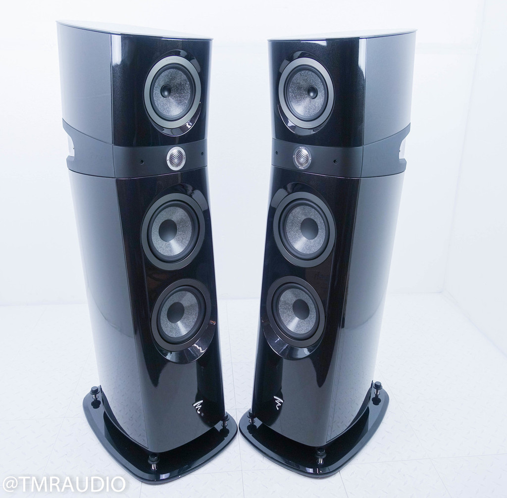 Focal Sopra 3 Floorstanding Speakers; Black Pair; N3; No.3