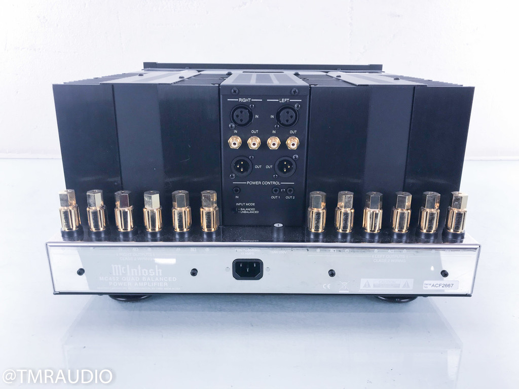 McIntosh MC452 Stereo Power Amplifier; MC-452
