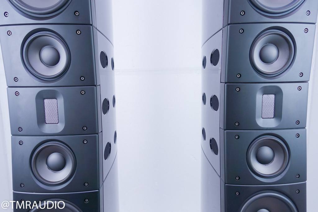 Raidho D-5.1 Floorstanding Speakers; Piano Black Pair; D5.1