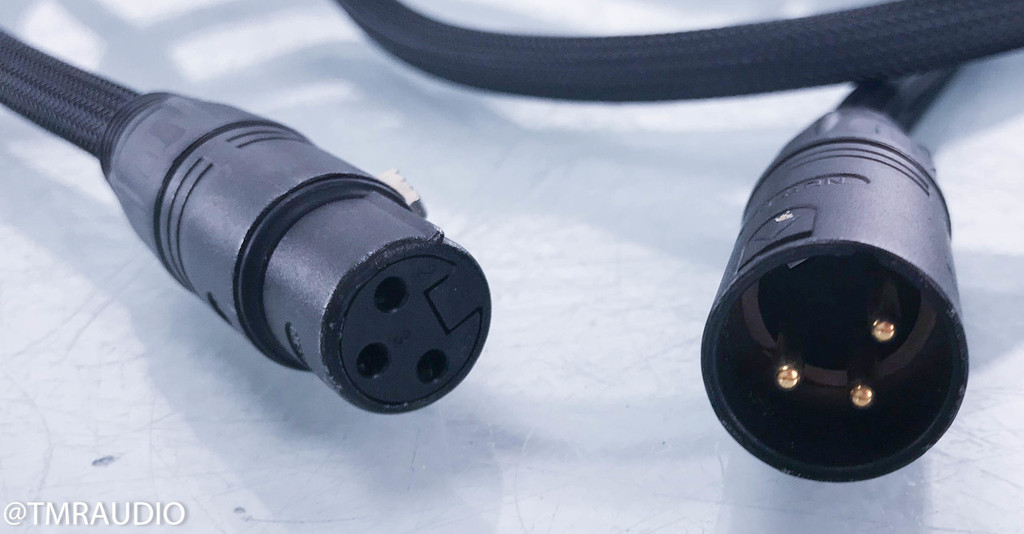 Transparent Balanced MusicLink Super XLR Cables; 15ft Pair Balanced Interconnects