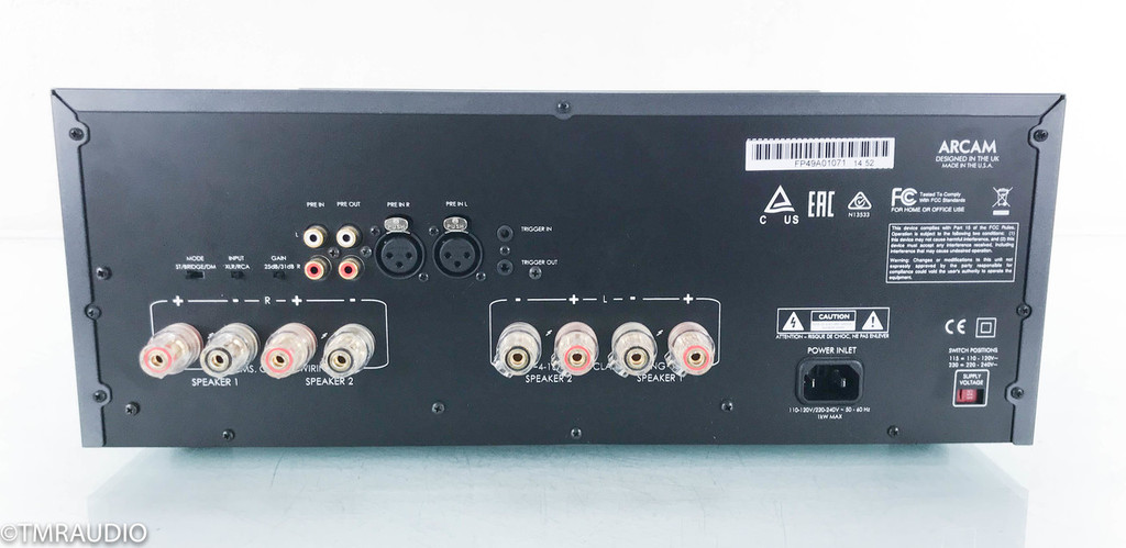 Arcam FMJ P49 Stereo Power Amplifier; P-49