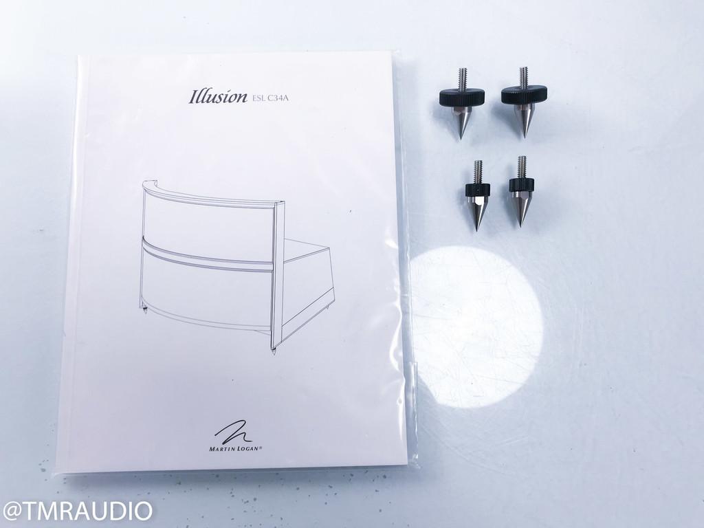 Martin Logan Illusion ESL C34A Electrostatic Center Speaker