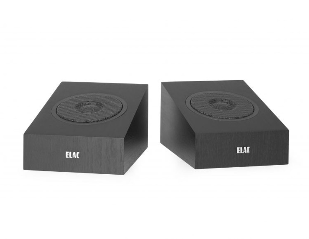 "Elac Debut 2.0 4"" Dolby Atmos Add-on Speakers; Pair; New w/ Full Warranty"