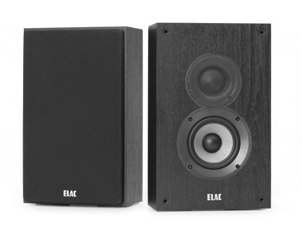 "Elac Debut 2.0 4"" On-Wall Speakers; Pair; New w/ Full Warranty"