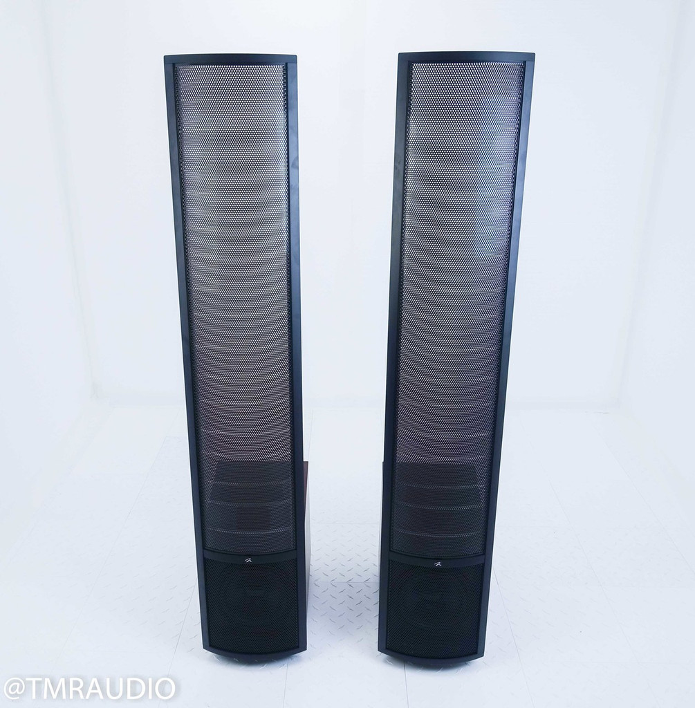 Martin Logan Ethos Electrostatic Floorstanding Speakers; Dark Cherry Pair