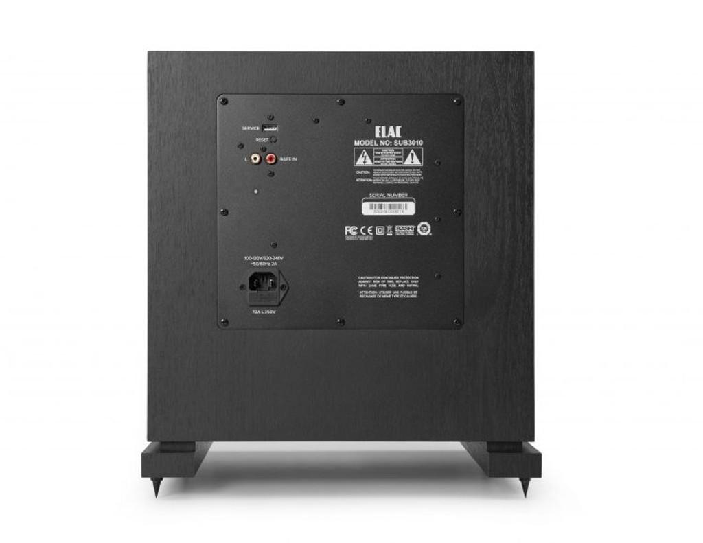 "Elac Debut 2.0 10"" 400 Watt Subwoofer with Auto Room EQ; SUB3010; New w/ Full Warranty (free shipping)"