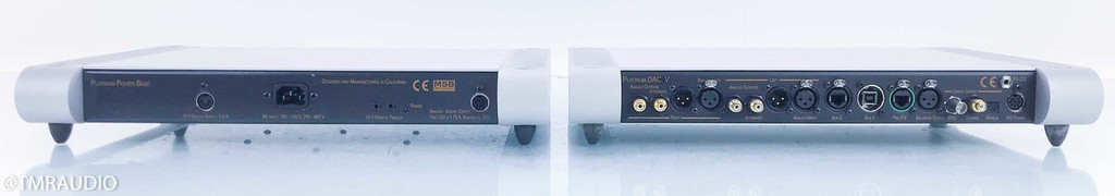 MSB Signature DAC V w/ Diamond Power Base; D/A Converter; Femto Clock; Pro I2S