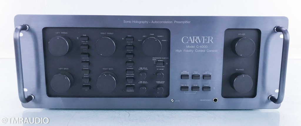 Carver C-4000 Vintage Sonic Holography Preamplifier; Autocorrelation