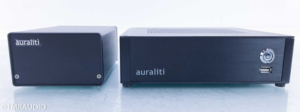 Auraliti PK-90 Network Streaming Player; PK90 w/ Linear Power Supply