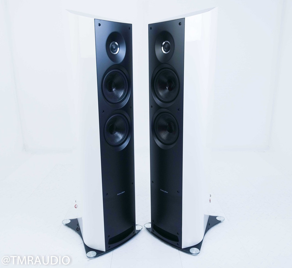 Sonus Faber Venere 2.5 Floorstanding Speakers; White Pair