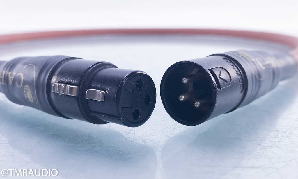 Cardas Cross XLR Cables; 1m Pair Balanced Interconnects