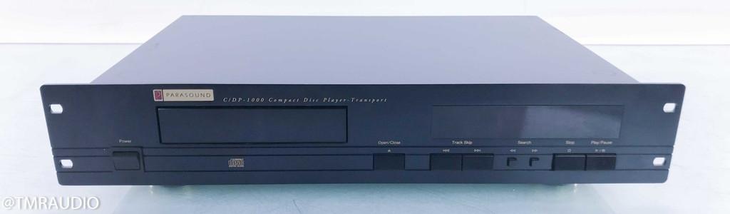 Parasound C/DP-1000 CD Player; CDP1000; AS-IS (Broken Microprocessor)