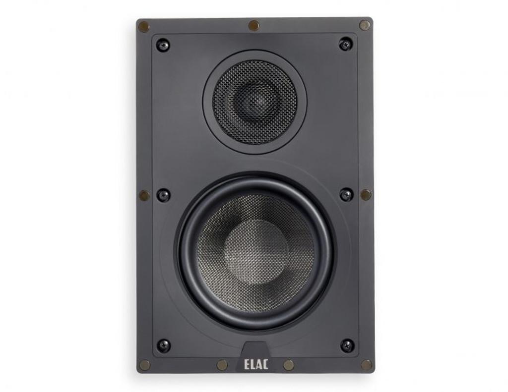 """Elac Debut 6.5"""" In-Wall Speaker; IW-D61-W; Single Speaker; New w/ Full Warranty"""