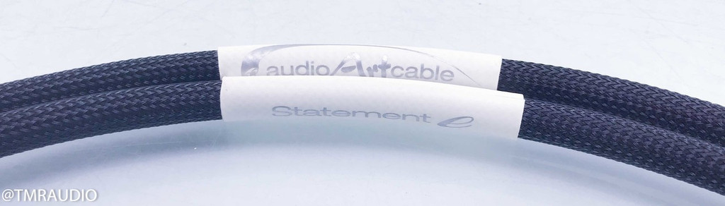 Audio Art Cable Statement e RCA Cables; 1m Pair Interconnects