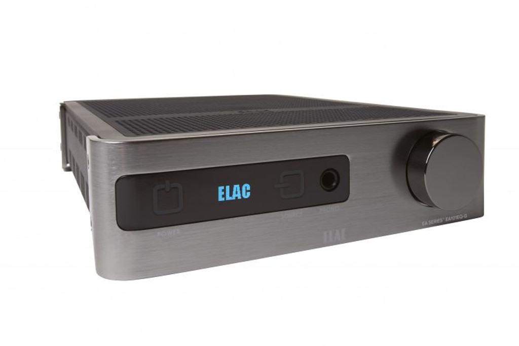 Elac EA Series Integrated Amplifier; EA101EQ-G; New w/ Full Warranty