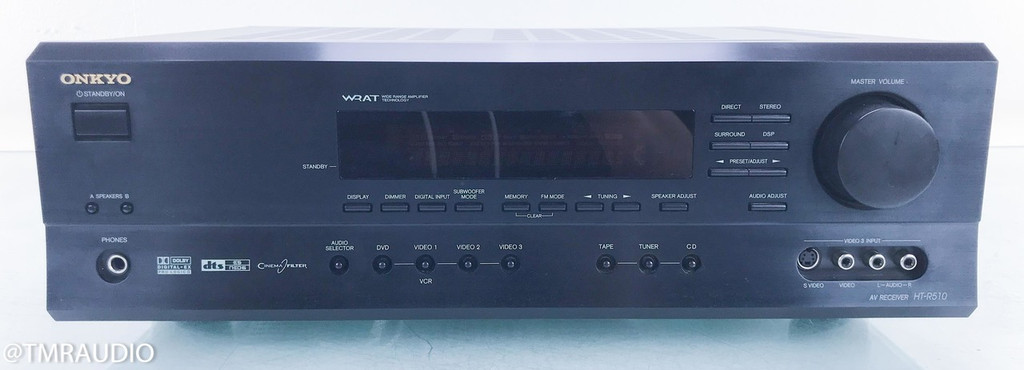 Onkyo HT-R510 5.1 Channel Home Theater Receiver; HTR510