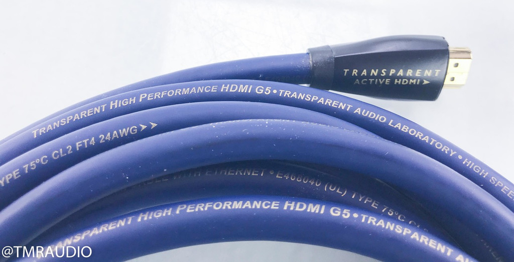Transparent Audio High Performance HDMI Cable; 20ft Digital Interconnect