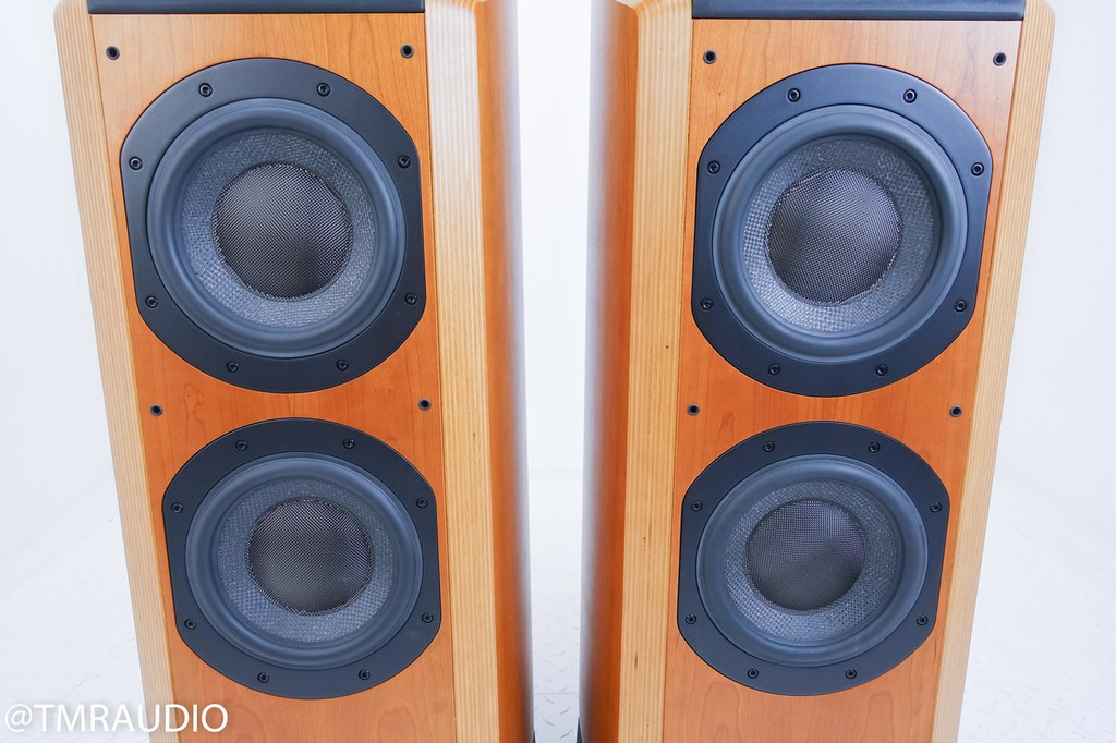B&W 802D Floorstanding Speakers; Cherrywood Pair