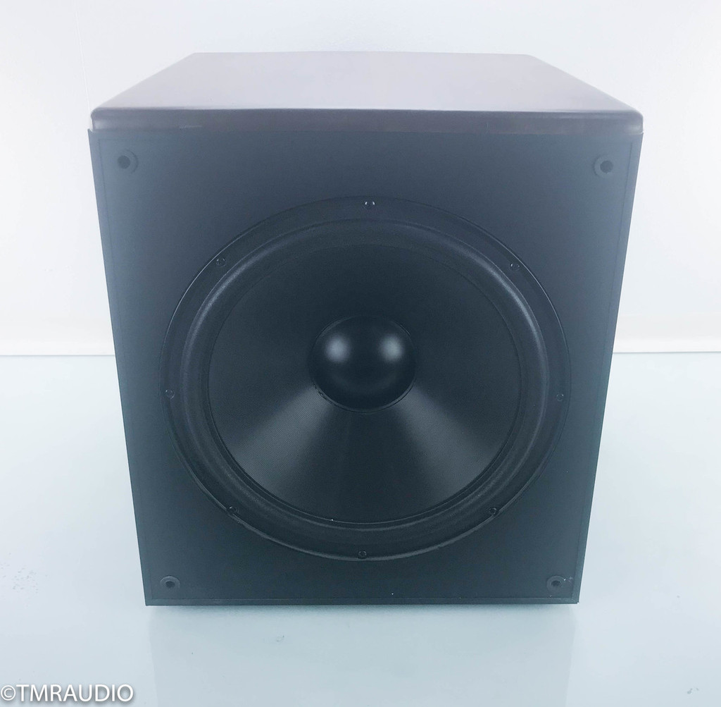 "Phase Tech Octave 1.0 15"" Powered Subwoofer; Oak"