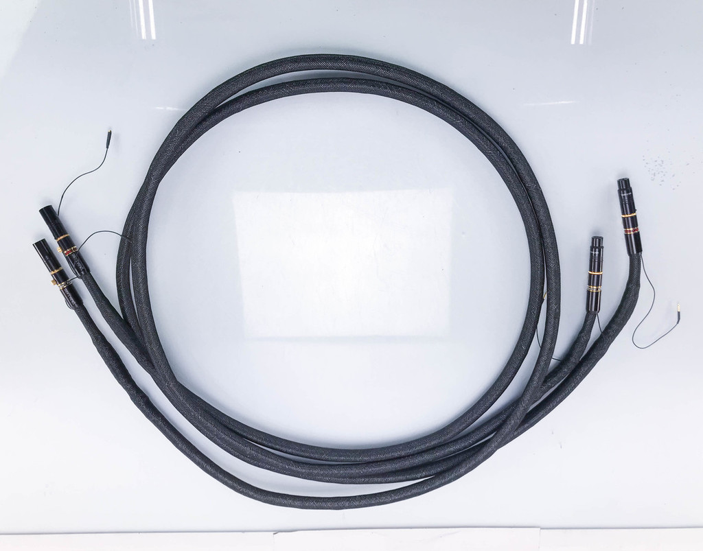 Tara Labs The Zero XLR Cables w/ Floating Ground Station; 3m Pair Interconnects