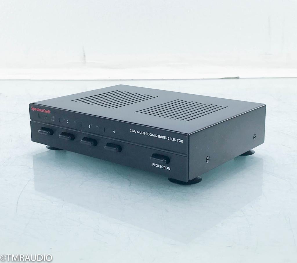 Speakercraft S4dc Four Zone Speaker Selector