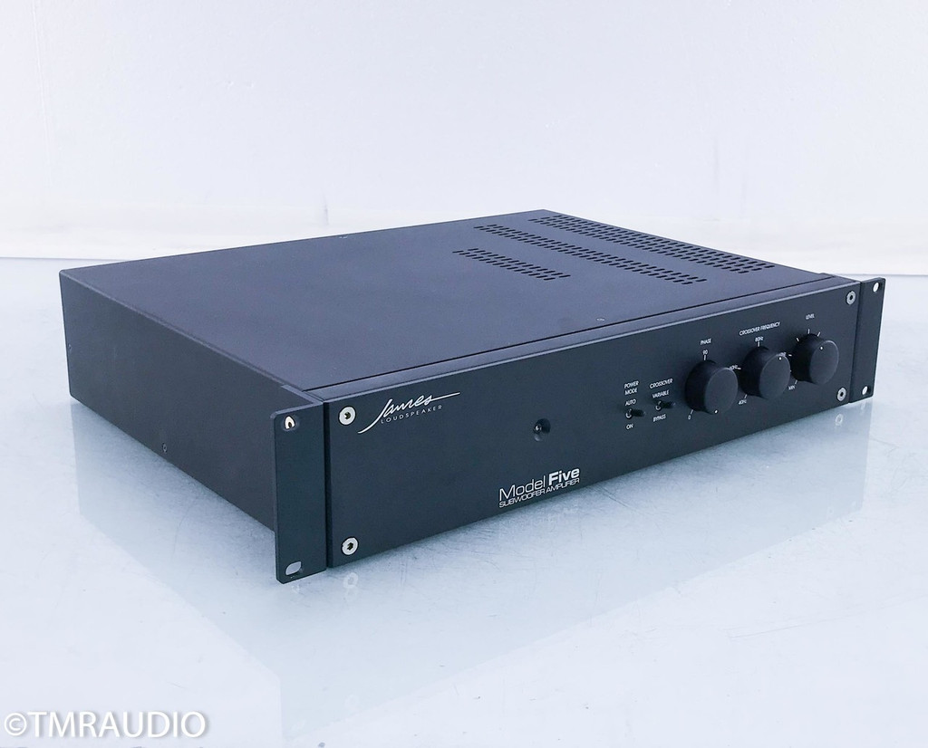 James Loudspeaker Model Five Subwoofer Amplifier; 5