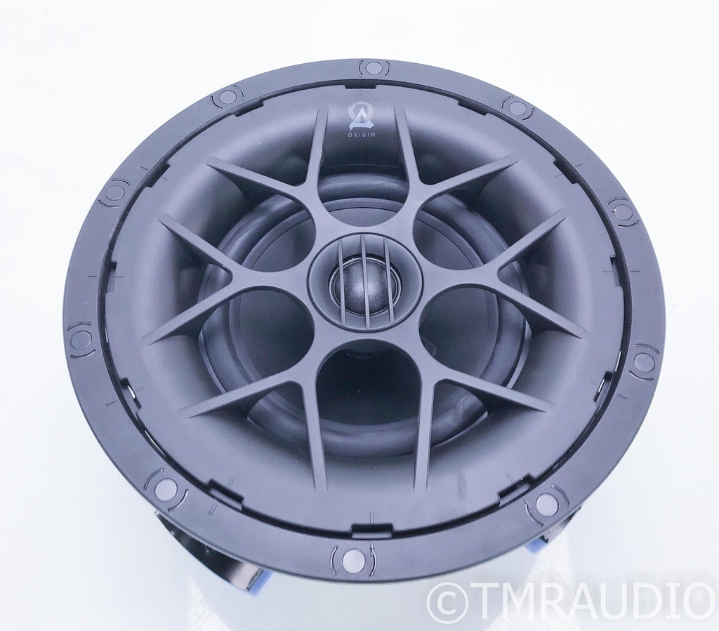 Origin Acoustics D61 In Ceiling Speaker; White Grill; D-61