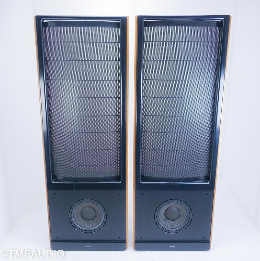 Martin Logan Monolith IIIx Hybrid Electrostatic Speakers; Oak Pair; Crossover