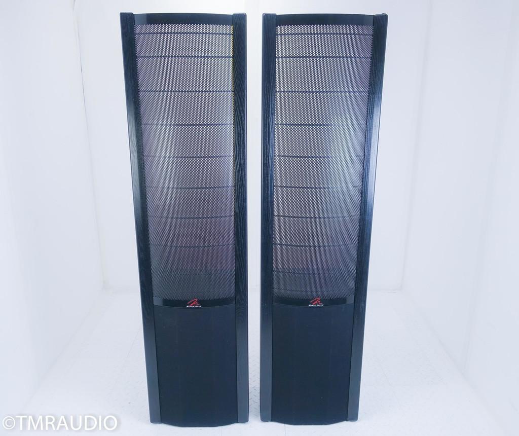 Martin Logan Quest Floorstanding Electrostatic Hybrid Speakers; Black Ash Pair