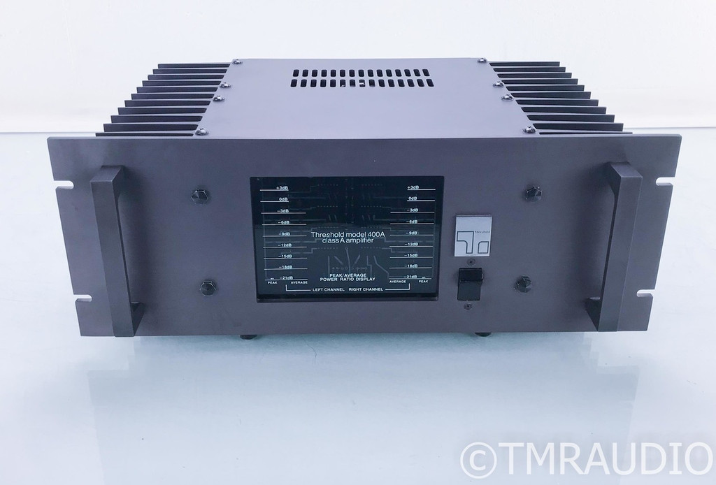 Threshold 400A Vintage Stereo Power Amplifier