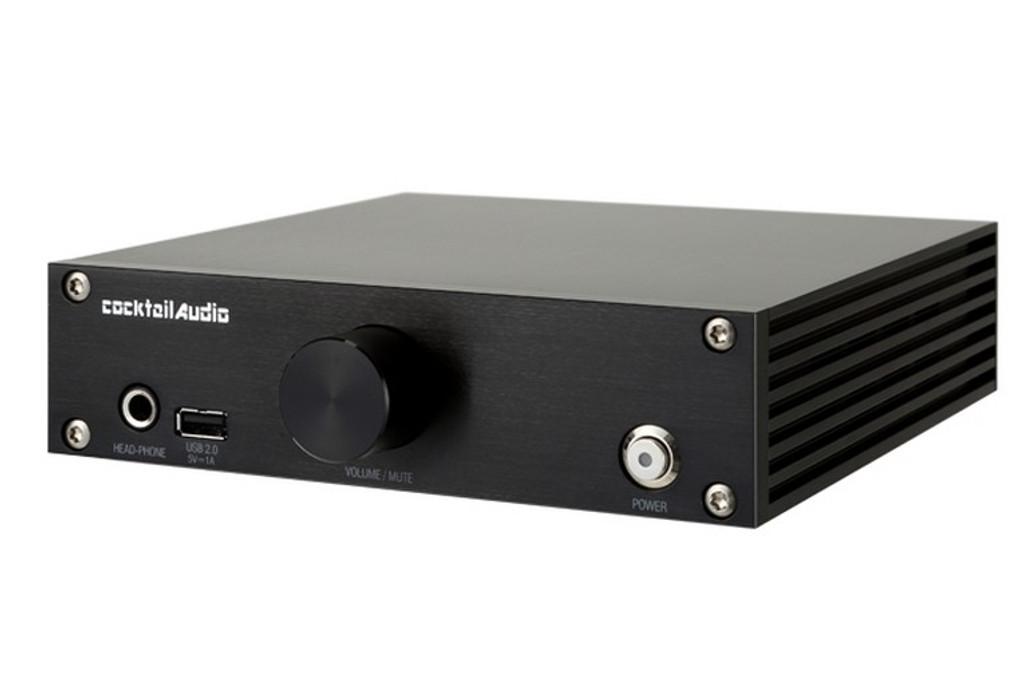 Cocktail Audio N15D Network Streamer / Server; N-15D; Black (New)