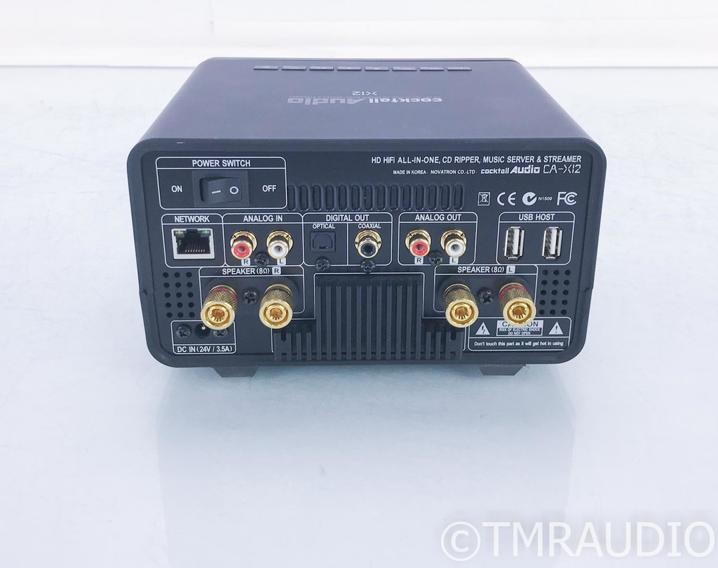 Cocktail Audio X12 Stereo Integrated Amplifier / Network Streamer; B-Stock