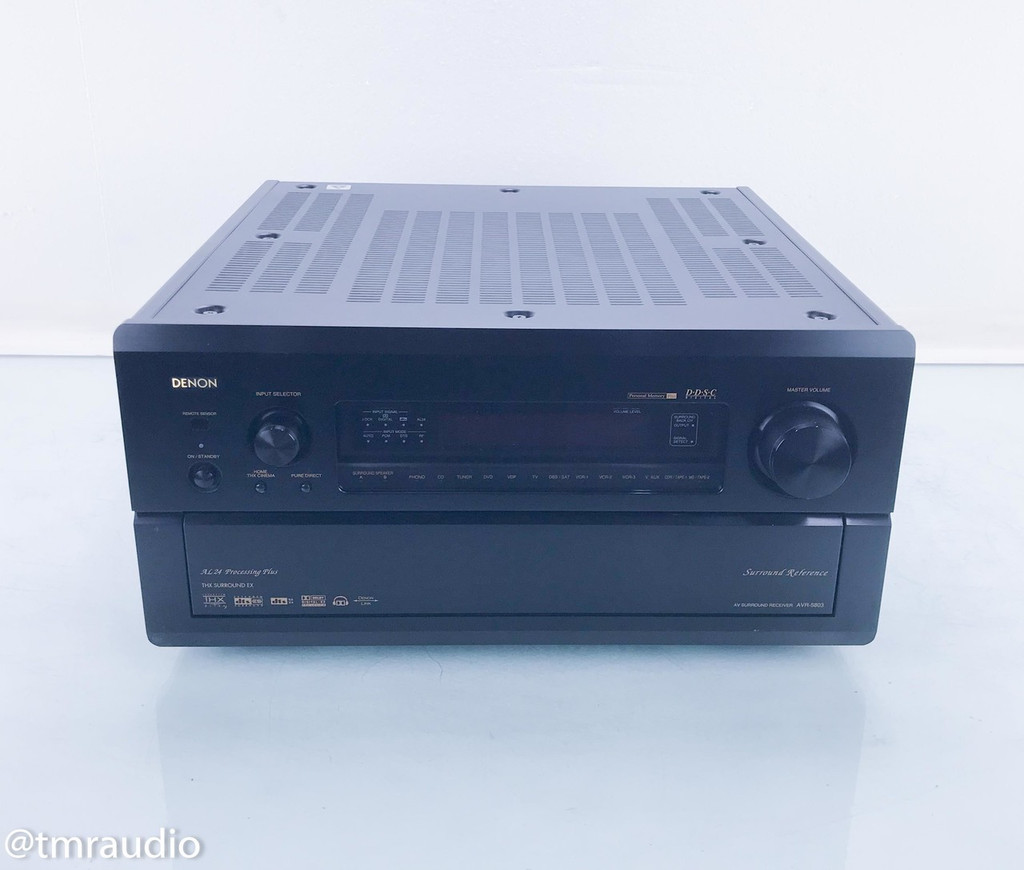 Denon AVR-5803 7.1 Channel Home Theater Receiver; AS-IS (Crackling; No Remote)
