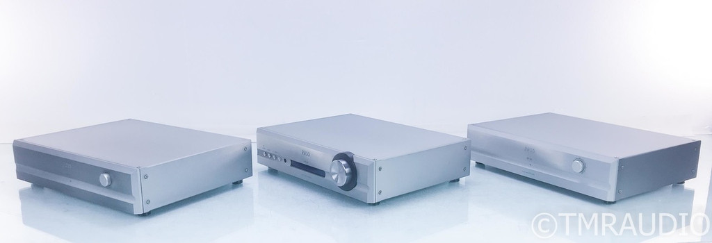 (HOLD RMA 7077 -NL 2/19/19) Pass Labs XP-30 Dual Mono Preamplifiers; Pair w/ Control Unit