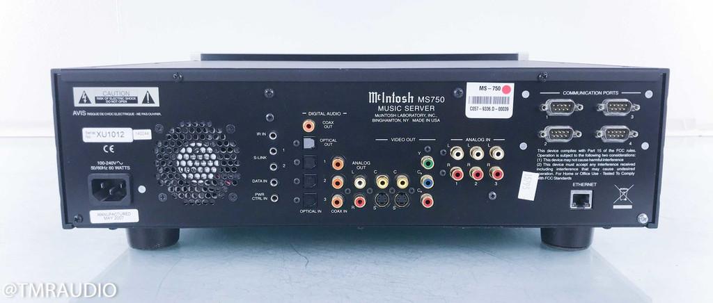 McIntosh MS750 Network Server / Streamer / CD Ripper; MS-750; 750GB