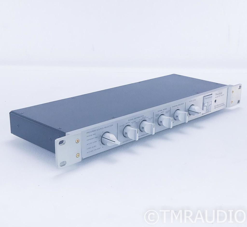 Threshold FET Ten/HL Stereo Preamplifier; 10HL
